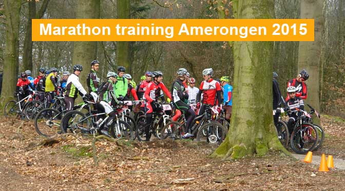 Marathon training Amerongen