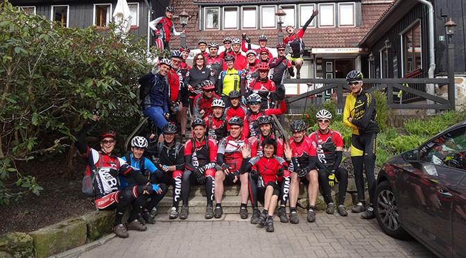 Clubweekend Harz 2015 groepsfoto